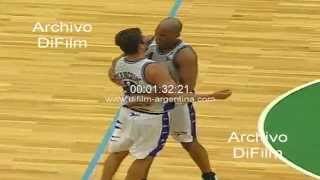 DiFilm - Ferro vs Pico Liga Nacional de Basquet 1999