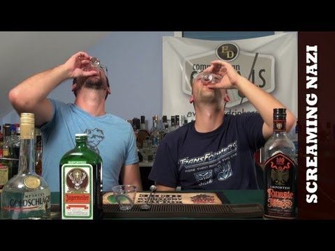 How To Make The Screaming Nazi Cocktail Shooter
