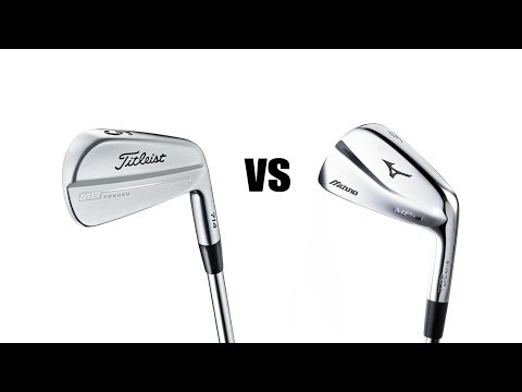 Titleist 714 MB Vs Mizuno MP4 Irons Comparison and Review