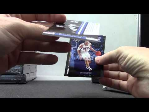 Brian's 2012/13 Limited Basketball Box Break