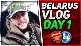 European Tour Vlog - Day 1 In Belarus