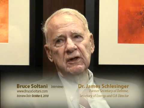 Bruce Soltani interviews Dr. James Schlesinger