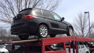 [Delivery of a brand new BMW X3 in Chicago] Video