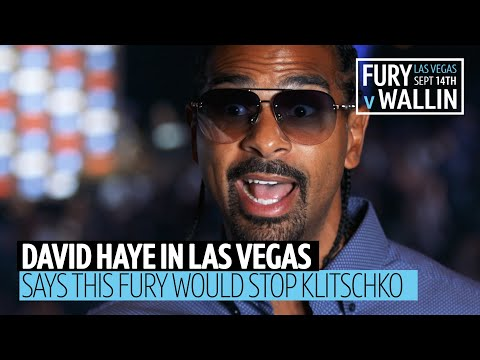 """This Tyson Fury would have stopped Klitschko!"" David Haye passionate chat on Fury's improvements"