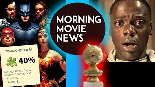 Justice League Rotten Tomatoes Score, Get Out a Comedy for Golden Globes