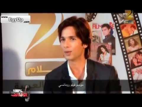 Shahid Kapoor speaks about
