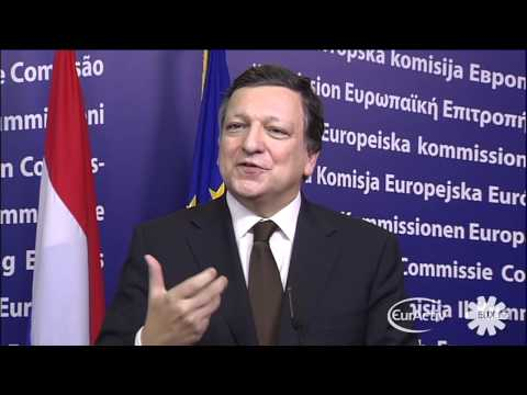 Mark Rutte press conference with Jose Barroso