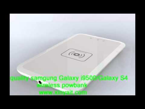 payal china factory =our company wholesale samsung Galaxy S4/i95000 high quality wireless power bank