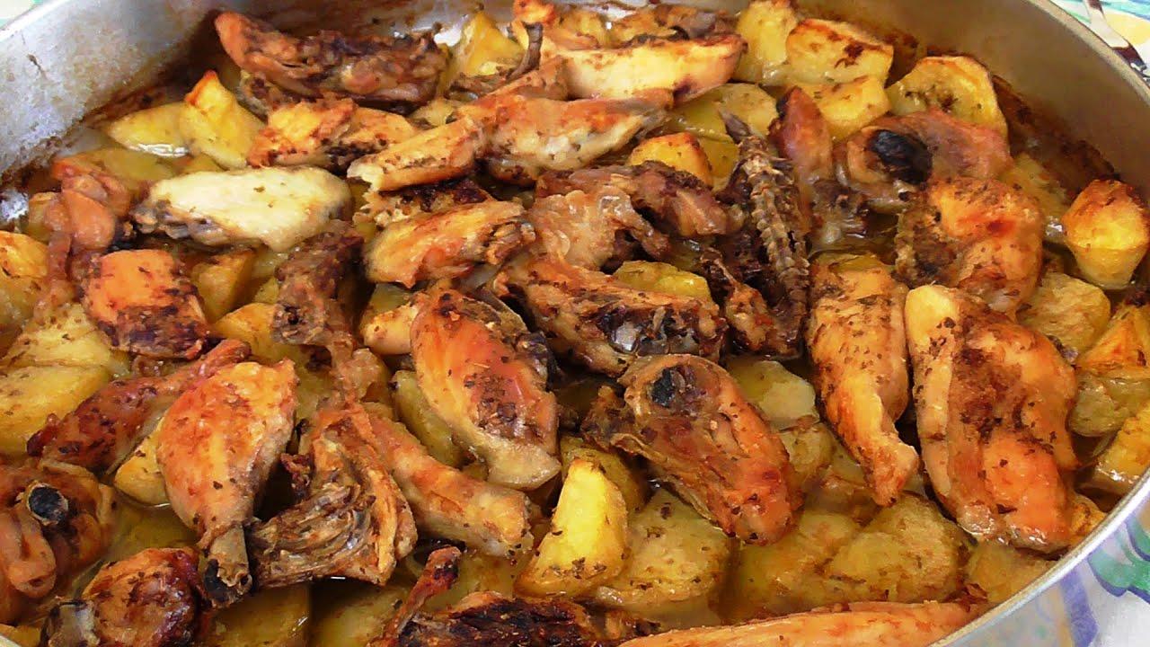 Фото рецепт приготовления окорочка с картошкой