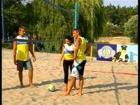 Чай вдвоем,Пляжный  волейбол, Оксана Кречкивская