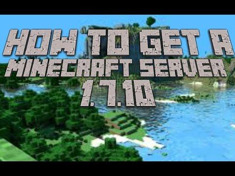 HOW TO MAKE A BUKKIT SERVER! - 1.7.10