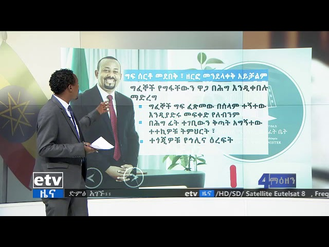 EBC | Key Points Of Dr Abiy's Message After The Human Right Violation Documentary