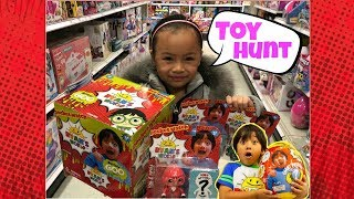 TOY Hunting For Ryan's World Toys | Vlog with Emma
