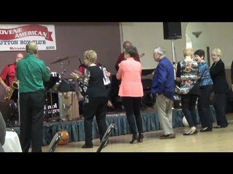 "FRANK STANGER ORCHESTRA AT SLOVENE AMERICAN CLUB FALL DINNER DANCE ""OPENING POLKA"""