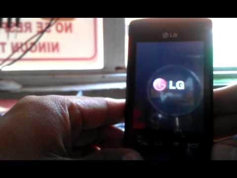 Hard Reset LG E410