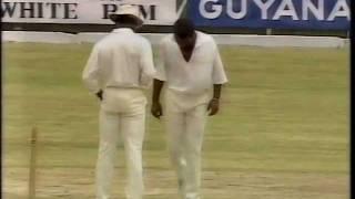 *RARE* MALCOLM MARSHALL ball by ball bowling vs Australia 1991 2nd test GUYANA