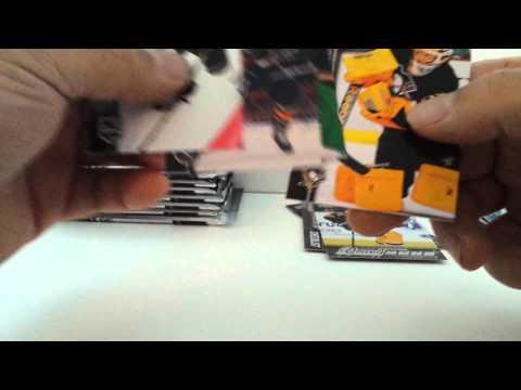 BBB119 2015-16 UPPER DECK SERIES 1 HOCKEY HOBBY BOX BREAK