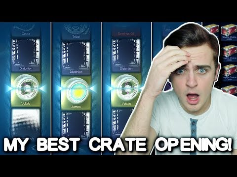 MY BEST CRATE OPENING EVER! | PAINTED ZOMBAS, VOLTAICS + MYSTERY! | Rocket League PCC Crate Opening!