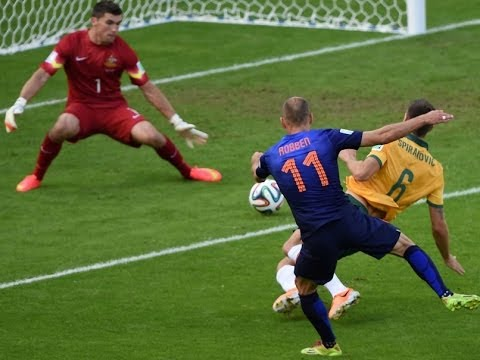 AUSTRALIA 2 VS NETHERLANDS 3, FIFA WORLD CUP 2014 HIGHLIGHTS