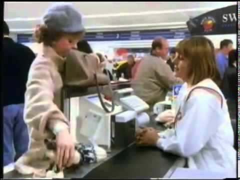 Prunella Scales playing the face of Clubcard when it was launched in 1995