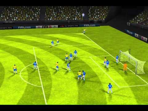 FIFA 14 iPhone/iPad - Brazil vs. Colombia