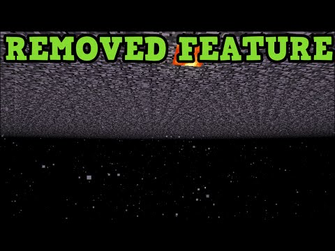Minecraft Xbox 360 REMOVED FEATURE - The Void Explained