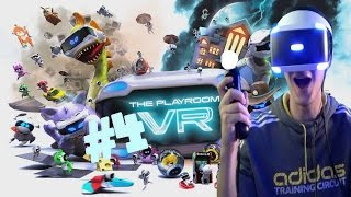 The Playroom VR (PSVR) Part 4 - Wanted!