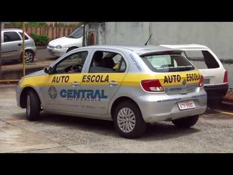 Baliza Central Auto Escola - Instrutor Alessandro Alves