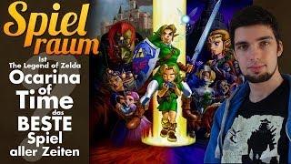 Spielraum #17: Ist Zelda: Ocarina of Time das beste Spiel aller Zeiten?