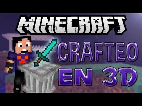 Minecraft: Crafting Pillar (Crafteando en 3D) (1.6.4 y 1.5.2)