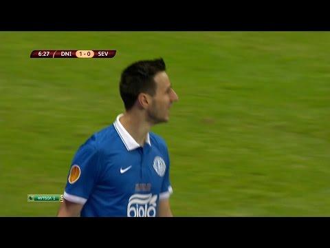 Nikola Kalinić Goal vs Sevilla | Dnipro vs Sevilla 2-3 | 27/05/15 | EUROPA LEAGUE FINAL 14-15