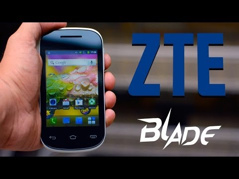 ZTE Blade KIS II - Análisis en Español HD