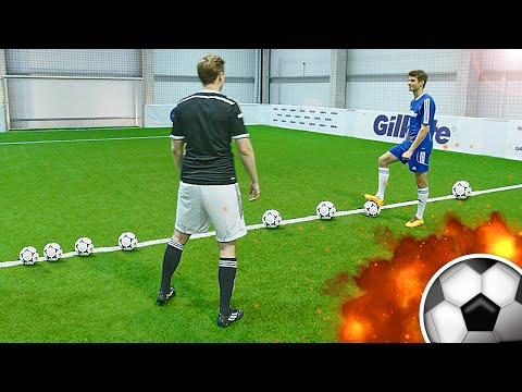 freekickerz vs Thomas Müller - Ultimate Football Challenge
