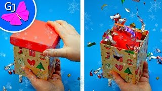 DIY Взрывная Коробочка / Подарок на День Рождения или Новый Год