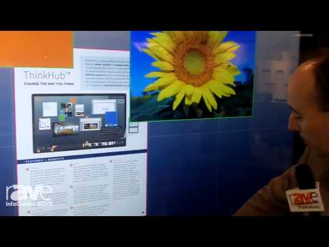 InfoComm 2015: T1V Experience Interactive Details ThinkHub Collaboration Tool