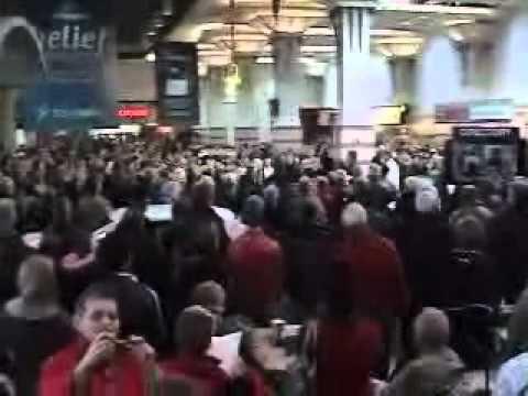 Lindale Mall Flash Mob Hallelujah Chorus MUST SEE 12/19/2010