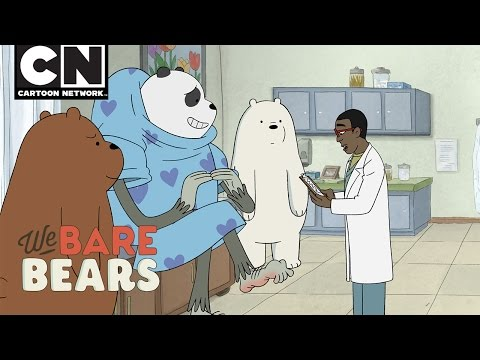 We Bare Bears | Dr. Visit | Cartoon Network