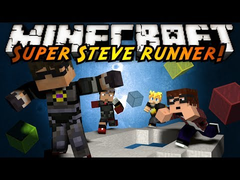 Minecraft Mini Game : SUPER STEVE RUNNER!