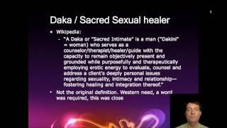 Daka Definition - What is a Daka? (Sacred Sexual Healer)