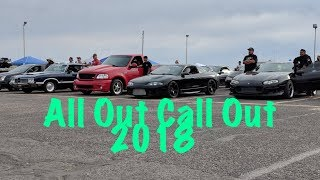 All Out Call Out 2018!