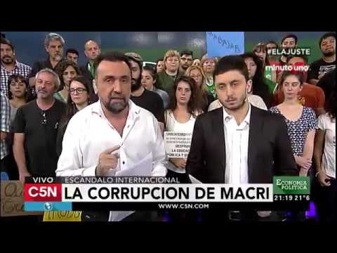 Economía Política Abril 03 de 2016 (Parte 01) La Corrupción de Macri thumbnail