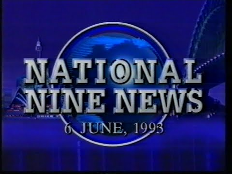 National Nine News Sydney (6.6.1993) [Full Bulletin]