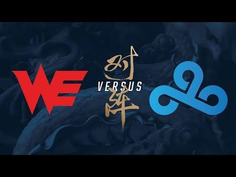 WE vs. C9 | Quarterfinals Game 4 | 2017 World Championship | Team WE vs Cloud9