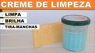 CREME DE LIMPEZA FÁCIL — LIMPA, BRILHA E TIRA MANCHAS