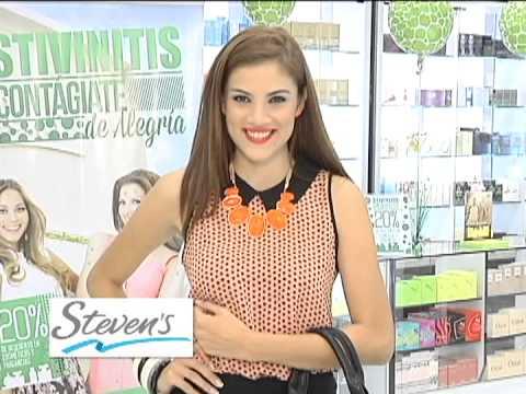 Steven's Fashion Trends en Ellas y Tu con Ana Gabriela. Excelente colección de outfits para ti.