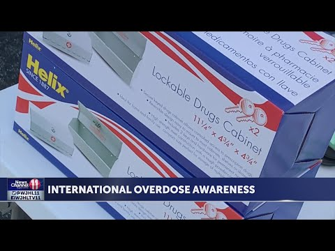 Sullivan County Anti-Drug Coalition gives out Narcan for International Overdose Awareness Day