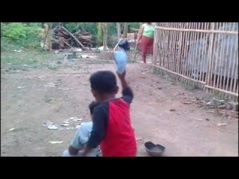 Video lucu nangis di getok kepalanya sama anak kecil