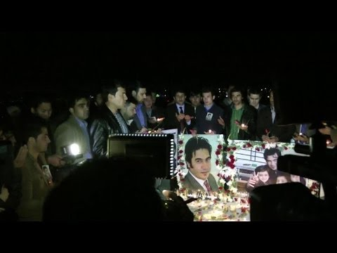 Prayer Vigil Held In Kabul For Killed Afp Reporter Sardar Ahmad video