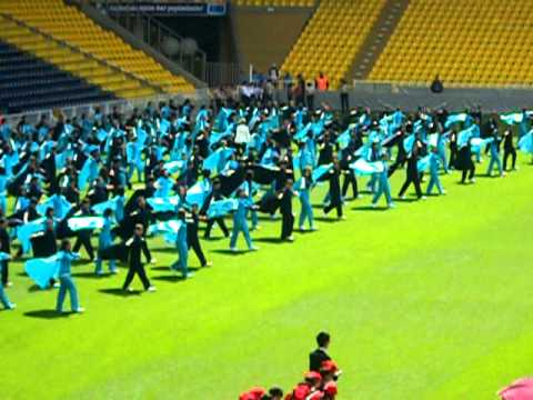 An american boys first view of turkish celebration at fenerbahce futbol stadium part 2