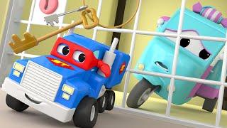 El MINI Camión - Carl el Super Camión en Auto City | Dibujos animados para niños